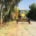Estepona desbroza y limpia más de 120 kilómetros de una veintena de caminos rurales