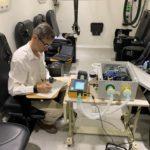 'Andalucía Respira' realiza un ensayo de simulación a 5.000 metros en una cámara hipobárica de Ejército del Aire