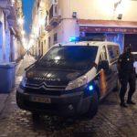 Cinco detenidos en una operación de la Policía Nacional contra el tráfico de drogas en Cádiz