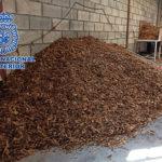 Diez detenidos en Córdoba y Ciudad Real por vender picadura de tabaco a domicilio a través de paquetería