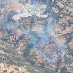 Estabilizado el fuego forestal de Bubión, en la Alpujarra