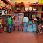 Intervenidas 35 toneladas de picadura y 26.000 cajetillas de tabaco ilegal, con 12 detenidos en la operación