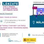 Málaga y Sevilla acogerán el programa formativo 'Lánzate' para fomentar el emprendimiento con impacto social