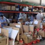 Más de 4.000 kilos de alimentos para madres en situación de vulnerabilidad de Mairena del Alcor