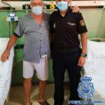 Un Policía libre de servicio salva la vida a un hombre que padeció una parada cardiaca mientras cenaba
