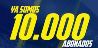 Cádiz CF: Superada la barrera de los 10.000 abonados
