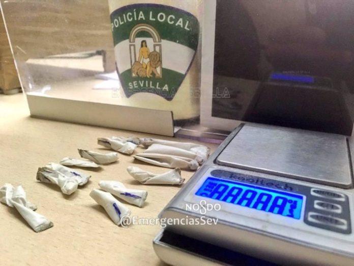 Detenido por menudeo de drogas junto a un parque infantil de Bellavista