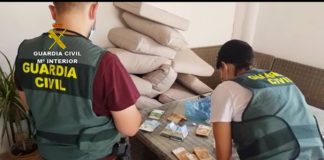 Detenidos 17 presuntos miembros de una organización de tráfico de drogas con más de 100.000 euros
