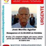 Se cumple un mes de la desaparición de José Morilla en pleno centro de Córdoba