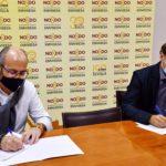 Sevilla amplía el convenio con 'Down Sevilla' que permite la cesión de viviendas de Emvisesa