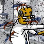 Científico se deja picar por miles de mosquitos para combatir al dengue
