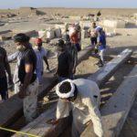 Avanza la excavación arqueológica del Templo de Tutmosis III en Luxor