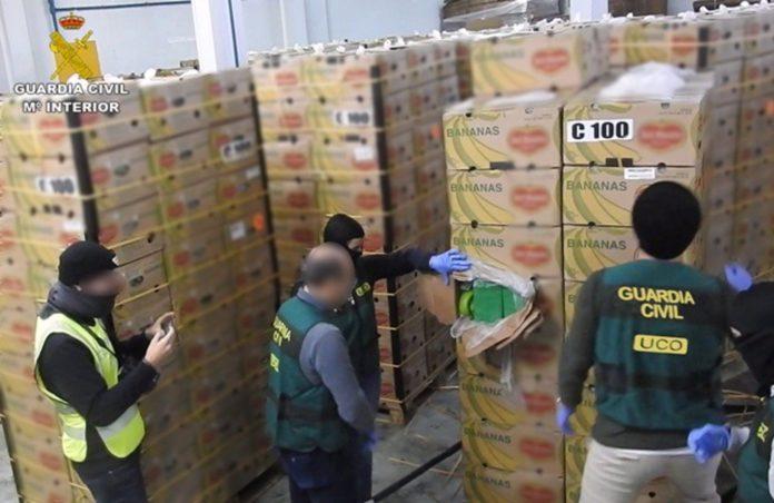 Desmantelada la red de narcotráfico internacional más activa de Europa con sede en Málaga