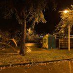 El temporal registra hasta 180 incidencias en Huelva sin dejar daños personales