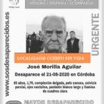 Hallan el cuerpo sin vida de José Morilla, el anciano desaparecido en Córdoba