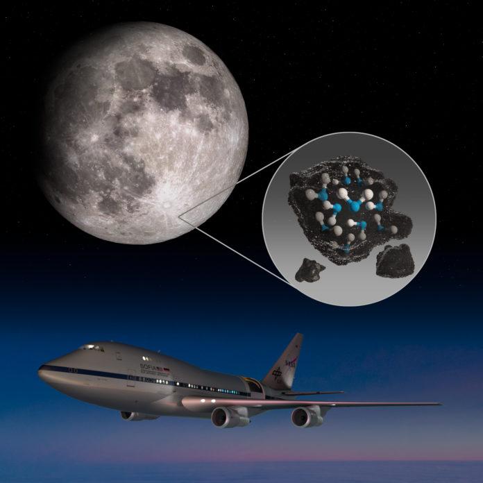 La Nasa lo confirma, hay agua en la superficie de la Luna