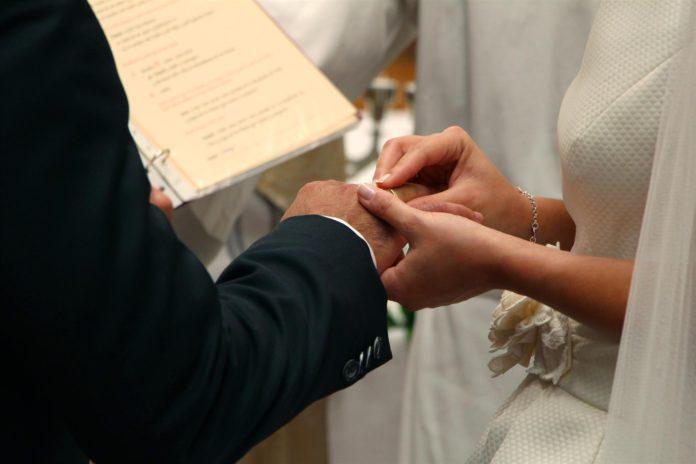 Boda religiosa. Matrimonio. / Foto: Europa Press.