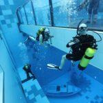 Inaugurada en Polonia la piscina más profunda del mundo con 45 metros