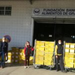 Trabajadores de Correos en Granada donan más de 2.000 kg de comida para el Banco de Alimentos