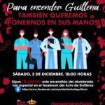 Guillena enciende la Navidad de forma 'online' con los profesionales sanitarios como protagonistas