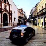Dos detenidos por robar a punta de cuchillo en una farmacia de Huelva