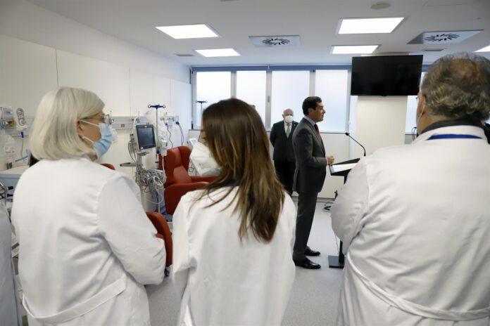 82.000 vacunas se han administrado ya en Andalucía, con 15.000 diarias