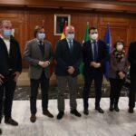 Apoyo institucional a la candidatura de Córdoba a base logística del Ejército de Tierra