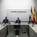 El Comité de Expertos Covid se reúne mañana para evaluar las medidas tras Navidad en Andalucía
