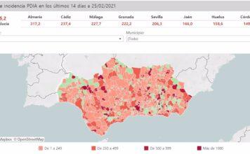 Andalucía mantendrá desde el viernes únicamente 51 municipios con cierre perimetral