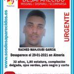 Buscan a un hombre desaparecido en Almería capital