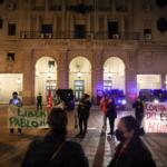 Cuatro detenidos en Granada por actos vandálicos en las protestas por el encarcelamiento de Hasel