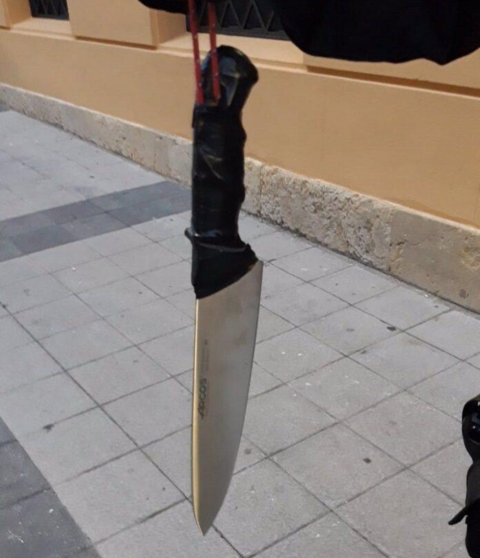 Detienen al atracador de una farmacia en Triana armado con un cuchillo