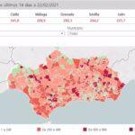 Localidades andaluzas de más de 50.000 habitantes reducen su tasa por debajo de 500