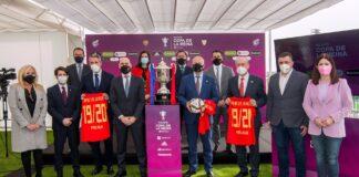 Presentación en Málaga de la final del Campeonato de España-Copa de S.M. La Reina 2019/2020. / Foto: Junta de Andalucía. / Europa Press.