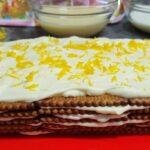 Haz esta deliciosa tarta de limón y galletas