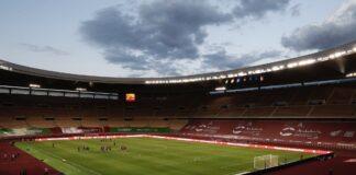 La Cartuja de Sevilla se prepara para albergar la final de la Copa del Rey