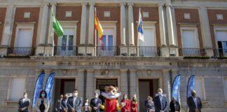 Llega a Huelva 'Onuba', la mascota del Mundial de Bádminton