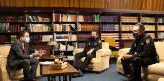 Farmacéuticos de Jaén crean canales directos de comunicación con Policía Nacional