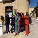 Baeza dedica una escultura al gran artista del Renacimiento Gaspar Becerra