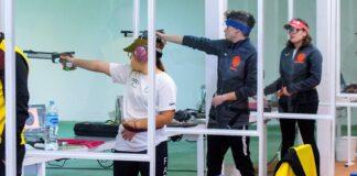 Camas acoge el Campeonato de Andalucía de aire comprimido y equipos mixtos 10 metros