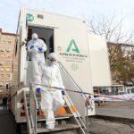 Andalucía utiliza los dispositivos de apoyo móviles para vacunar