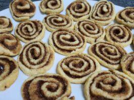 Cómo hacer unas deliciosas galletas cinnamon rolls