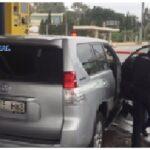 Detenidos los conductores de tres vehículos robados tras una persecución policial