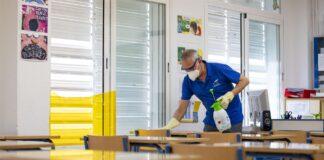 Intensifican las medidas de limpieza en centros educativos andaluces