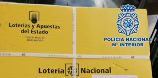 Recuperan 450 décimos de Lotería Nacional extraviados por un repartidor