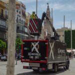 Una empresa cordobesa ilumina Sevilla en su mes más especial