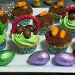 Prueba a hacer con niños estos cupcakes de Pascua