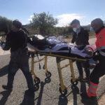 Salvan la vida a dos hombres intoxicados por dormir junto a unas brasas