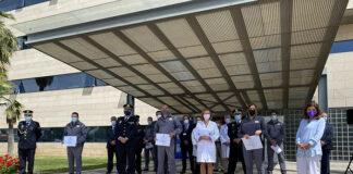 Reconocen la labor de los vigilantes de seguridad del Hospital Reina Sofía de Córdoba