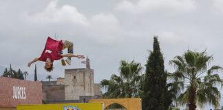 El freerunning y el parkour toman Granada durante el Red Bull Al-Andalus